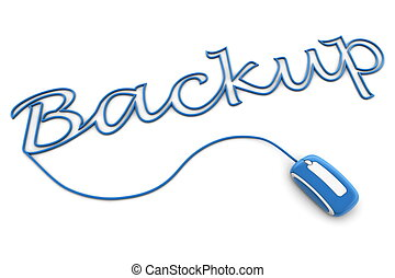 Browse the Glossy Blue Backup Cable
