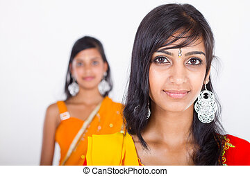 two young indian women