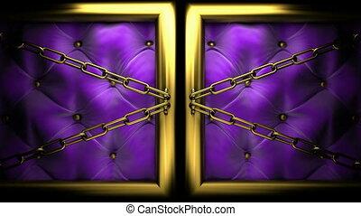 magic on velvet background