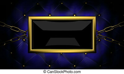 exit  on velvet background