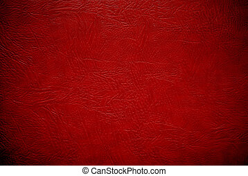 closeup red leather background - closeup red leather texture...