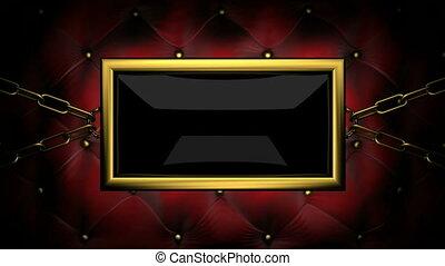 www  on velvet background