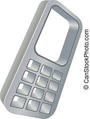 cell phone web icon