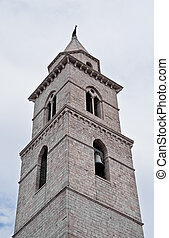 Belltower Cathedral. Andria. Apulia.