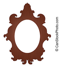 picture frame - classic picture frame with white space for...