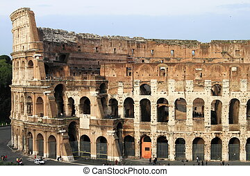 Colosseum - The Colosseum arena in Rome Italy