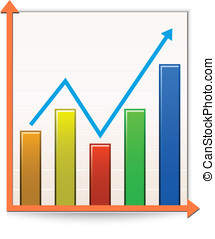 Chart Reports - Chart icon Vector Illustration of Report