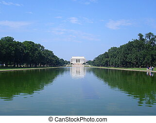 Lincoln Memorial, Washington DC US