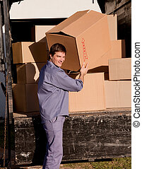Professional Mover - A portrait of a professional mover...