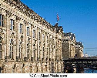 The Museumsinsel in Berlin - Bodemuseum and Pergamonmuseum...