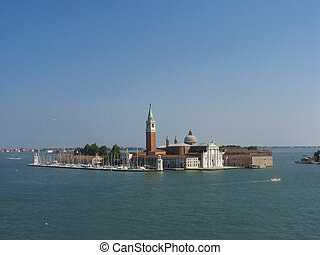 One of the islands of Venice