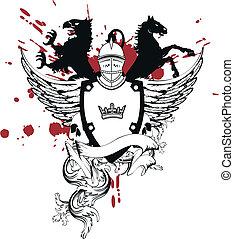 heraldic helmet coat of arms5