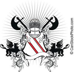 heraldic helmet coat of arms8