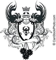 heraldic helmet coat of arms6