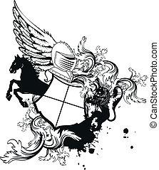 heraldic helmet coat of arms4