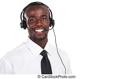 african call center consultant
