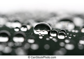 waterdrops close up