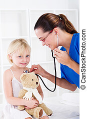 pediatric examination