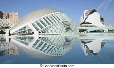 Valencia, Spain 1920x1080 - The City of Arts and Sciences in...