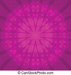 Abstract background, lilac - Abstract color vector pattern,...