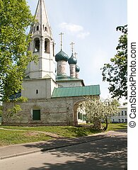 The small chirch in Jaroslavl