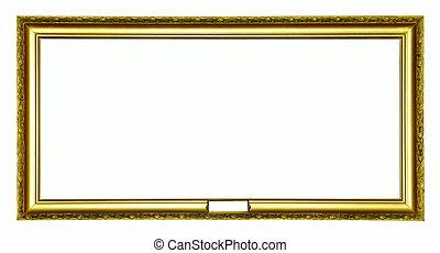 anticaglia, cornice, oro