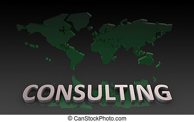 Consulting Services with World Knowledge as Art