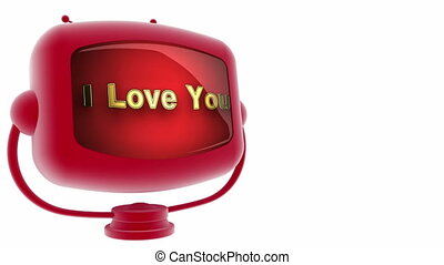 i love you on loop alpha mated tv