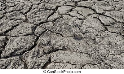 Nature - A dry barren land, that transforms into grass and...