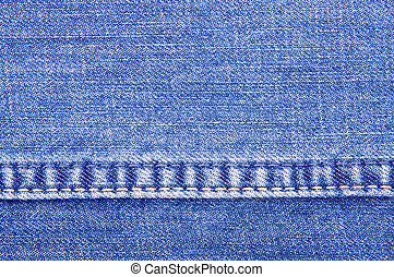 jeans texture close-up