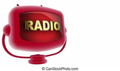 radio  on loop alpha mated tv