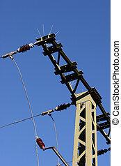 Electricity pylon - view details