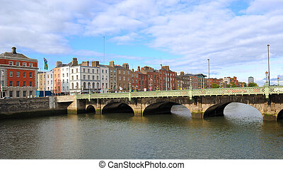 River Liffey - The River Liffey in Dublin, ireland