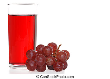 grape juice - isolated grape juice