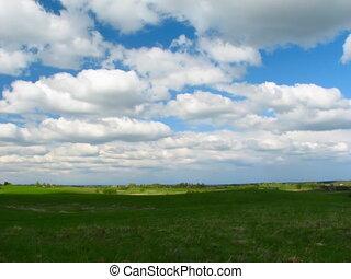 landscape, blue sky, timelapse, PAL ver