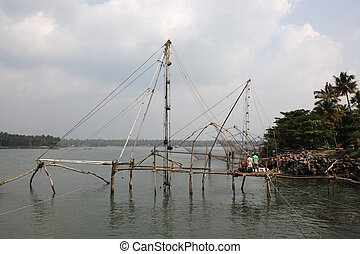 Chinese fishernets Kochi - Chinese fishernets in Kochi,...