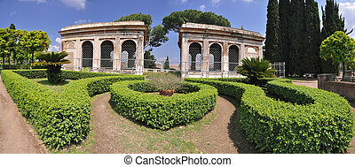 Palatine Hill Aviaries - 17th century aviaries on the hill,...