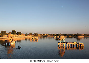 Gadi Sagar Lake Jaisalmer - Gadi Sagar Lake is one of the...