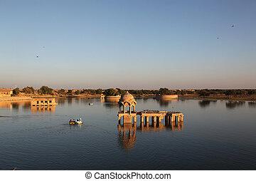 Gadi Sagar Lake Jaisalmer - Gadi Sagar Lake is one of the...