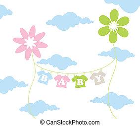Children flower