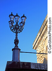 The Florence - The lamppost near the palazzo Pitti