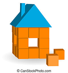 The house from bricks