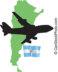 fly me to the Argentina
