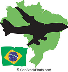fly me to the Brazil
