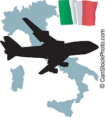 fly me to the Italy