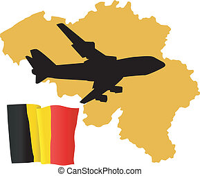 fly me to the Belgium