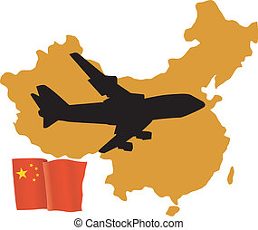 fly me to the China