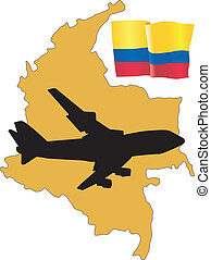 fly me to the Colombia