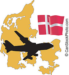 fly me to the Denmark