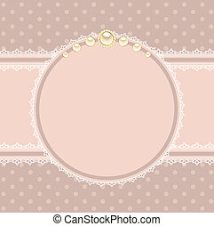 background with lace ornaments - Beautiful background with...
